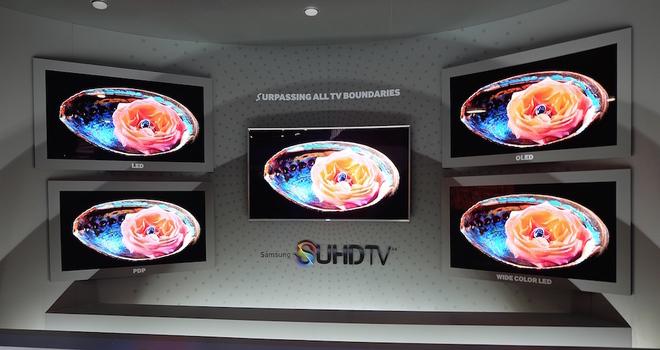 TV nổi bật của các thương hiệu tại CES 2015