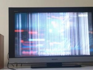 sửa tivi bị trắng màn hình