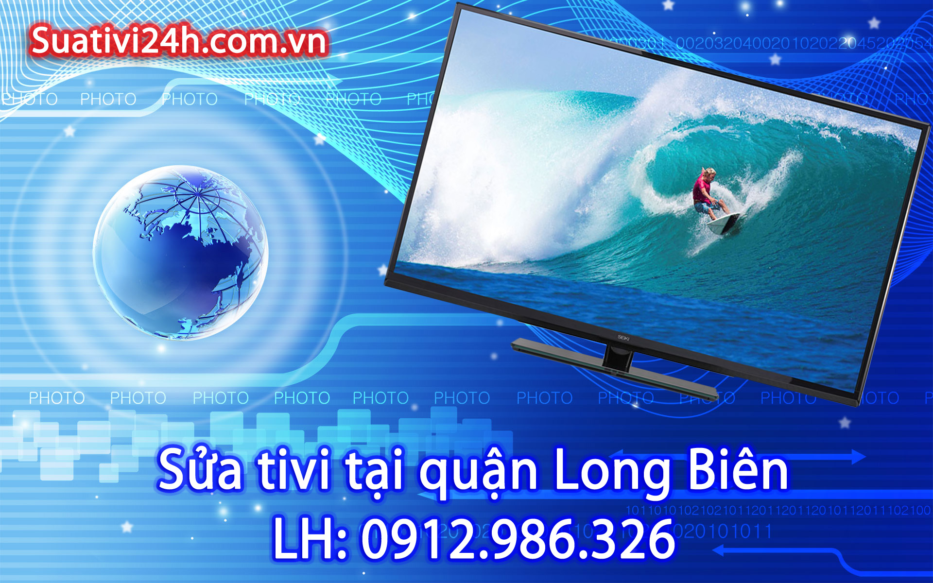 Sửa chữa tivi tại nhà quận Long Biên