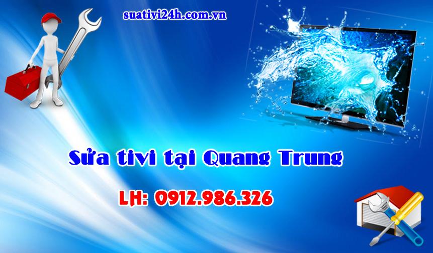 Sửa chữa tivi tại nhà Quang Trung
