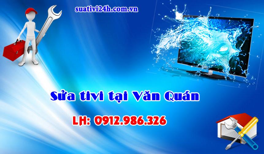 Sửa chữa tivi tại nhà khu vực Văn Quán