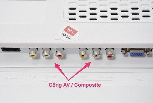 Những cổng kết nối thường gặp ở tivi