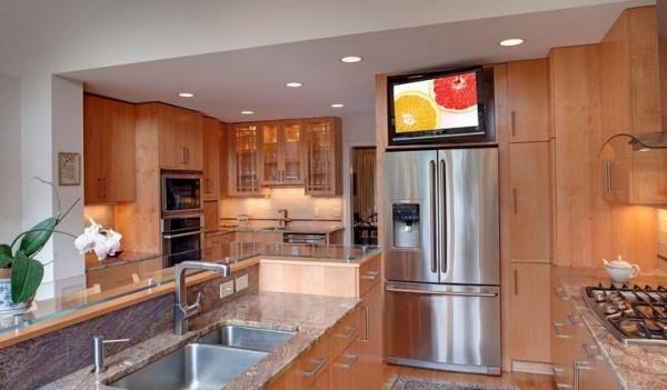 Có nên để tivi trên tủ lạnh không?
