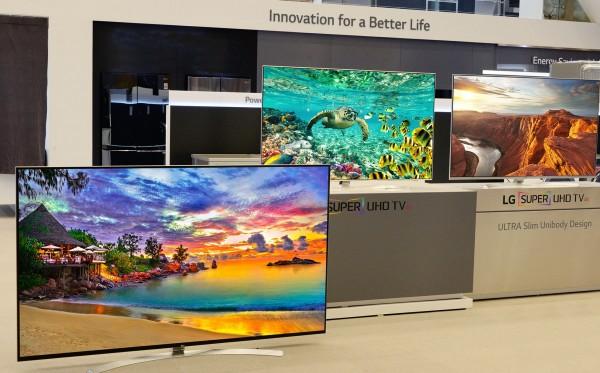 Loạt sản phẩm tivi super UHD của LG gây ấn tượng tại CES 2016