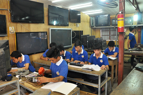 Hướng dẫn thực hành sửa chữa tivi