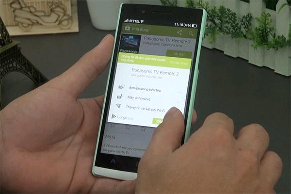 Các bước đơn giản giúp sử dụng điện thoại điều khiển Smart Tivi Panasonic