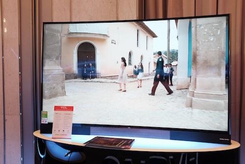 Màn hình Tivi công nghệ chấm lượng tử của TCL