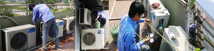 Dịch vụ nạp gas điều hòa tại Hà Nội