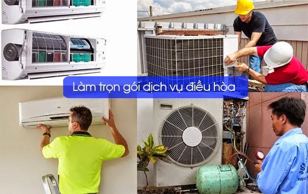 Sửa điều hòa tại nhà Phạm Văn Đồng
