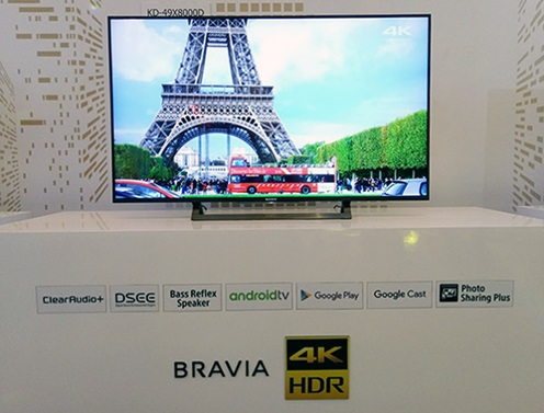 Khám phá công nghệ nổi bật trên các dòng TV 4K 2016