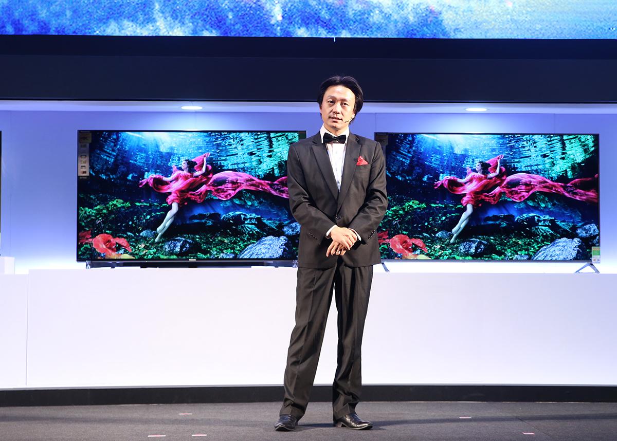 Tivi thông minh Ultra HD Premium sản phẩm mới được ra mắt tại Việt Nam