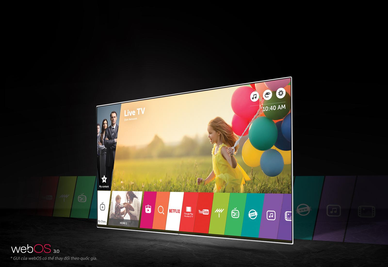 """Điểm qua một số tính năng của tivi LG OLED TV – E6 65"""""""