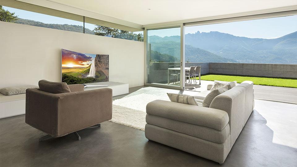 Sự kết hợp hoàn hảo của không gian nội thất cùng TV SUHD