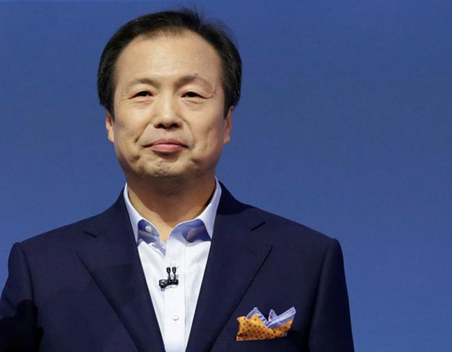 Chủ tịch Samsung Electronics Shin Jong-kyun