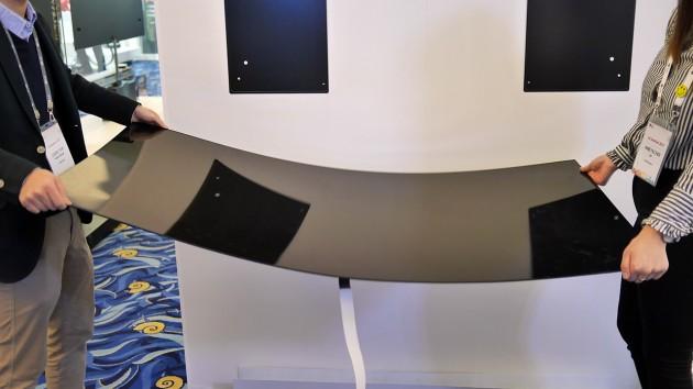 LG W7 màn hình OLED siêu mỏng chỉ 2,55 mm.