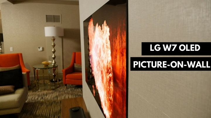 Chiêm ngưỡng tivi LG W7 màn hình OLED siêu mỏng