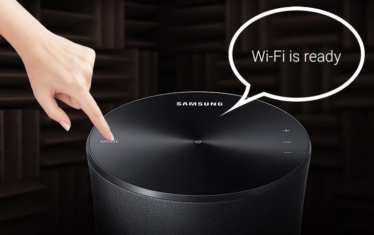 Các cách để kết nối từ loa không dây Samsung WAM1500 với Smart tivi Samsung qua wifi