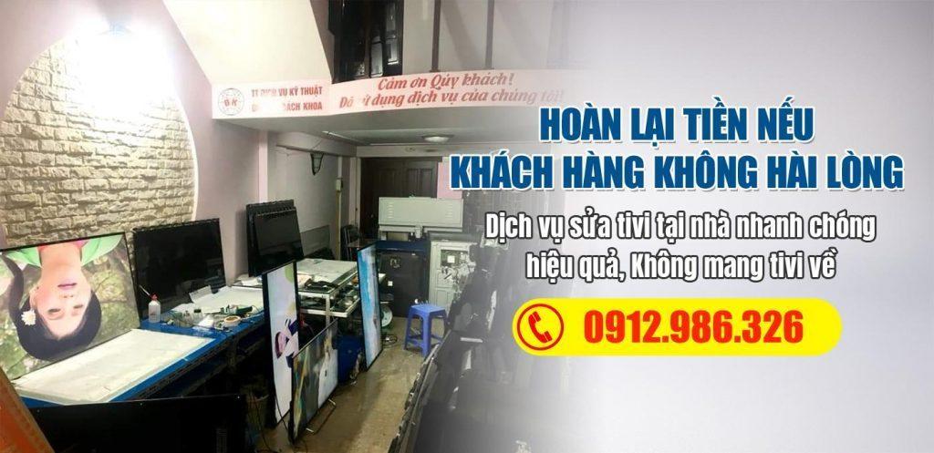 Sửa chữa tivi tại nhà Hà Nội
