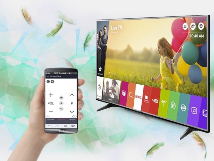 3. Dùng ứng dụng LG TV Plus