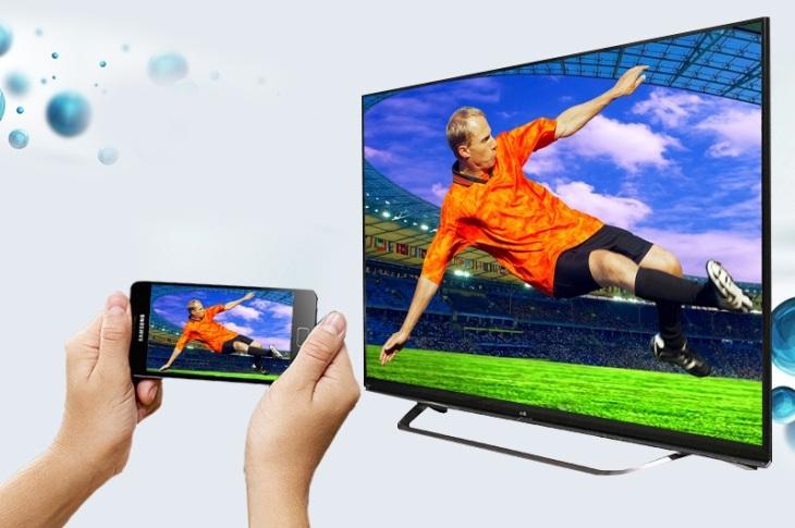 5.Chiếu màn hình bằng Miracast (Screen Mirroring)