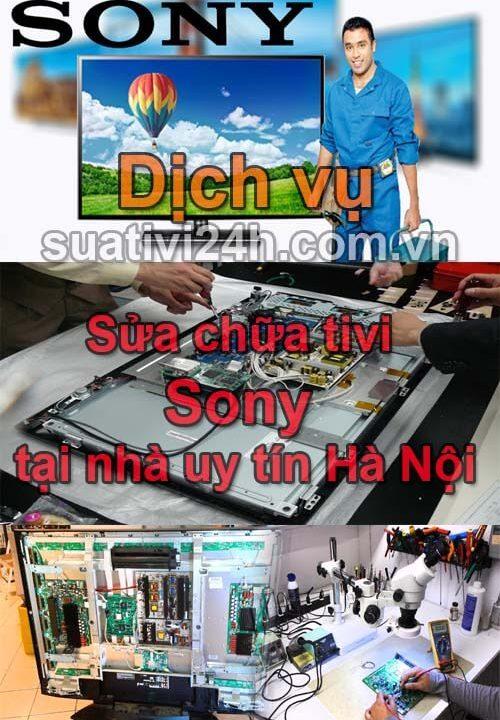 Dịch vụ sửa chữa tivi Sony tại nhà uy tín nhất hà nội