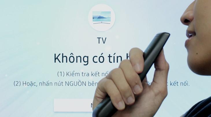 Cách tìm kiếm bằng giọng nói trên Smart tivi Samsung đời 2018, 2019