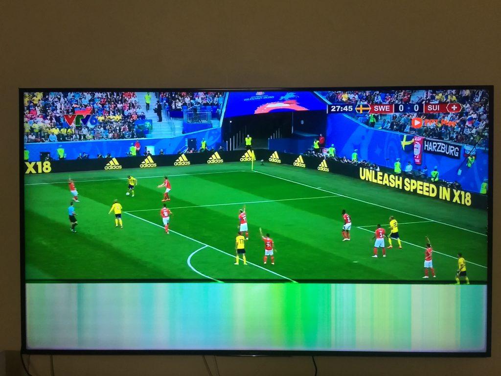 Lỗi Tivi bị đen lửa màn hình