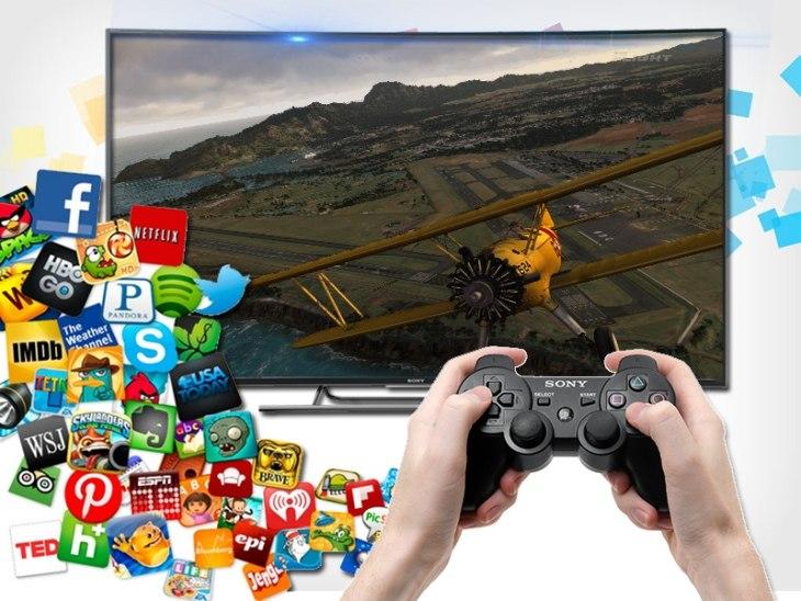 Hướng dẫn chơi game trên smart tivi