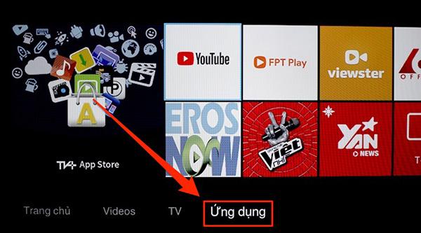 Cách thiết lập lại ứng dụng Youtube trên tivi TLC